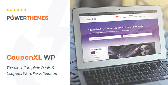 CouponXL - Coupons, Deals & Discounts WP Theme - Directory & Listings Corporate