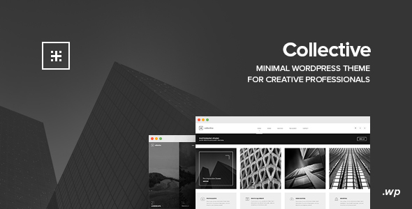 Collective - Minimal WordPress Theme - Portfolio Creative