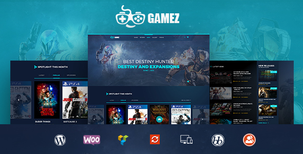 Gamez - Games, Movie, Music Review and Editorial WordPress Theme - News / Editorial Blog / Magazine