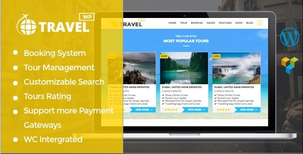 Travelwp - Travel/Tour Booking WordPress Theme - Travel Retail