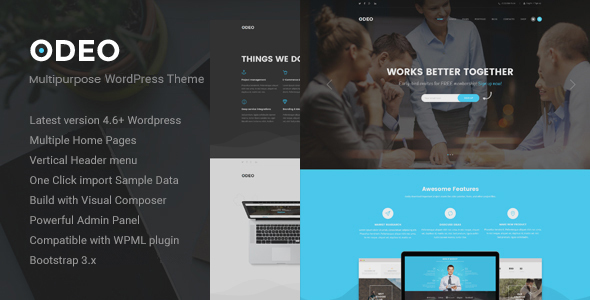 ODEO - Multipurpose & Business WordPress Theme - Business Corporate