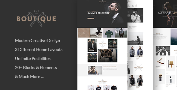 Boutique - Multipurpose WooCommerce Theme - WooCommerce eCommerce